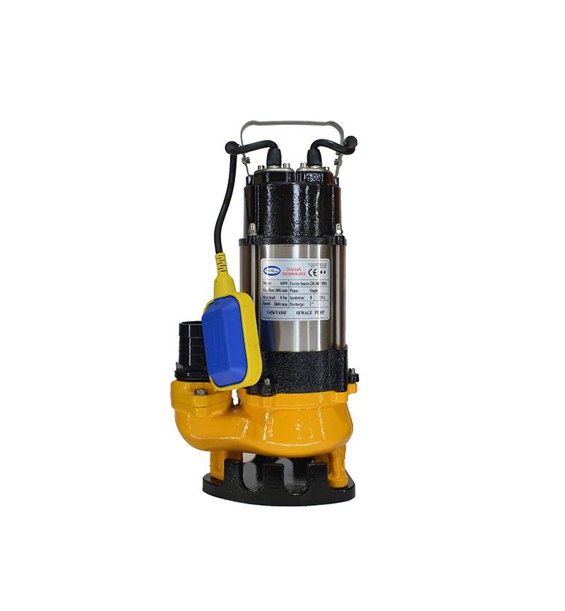 Υποβρύχια Αντλία Λυμάτων SKM JV750F