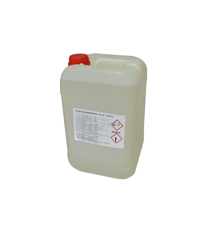 Υδροχλωρικό Οξύ 15kg