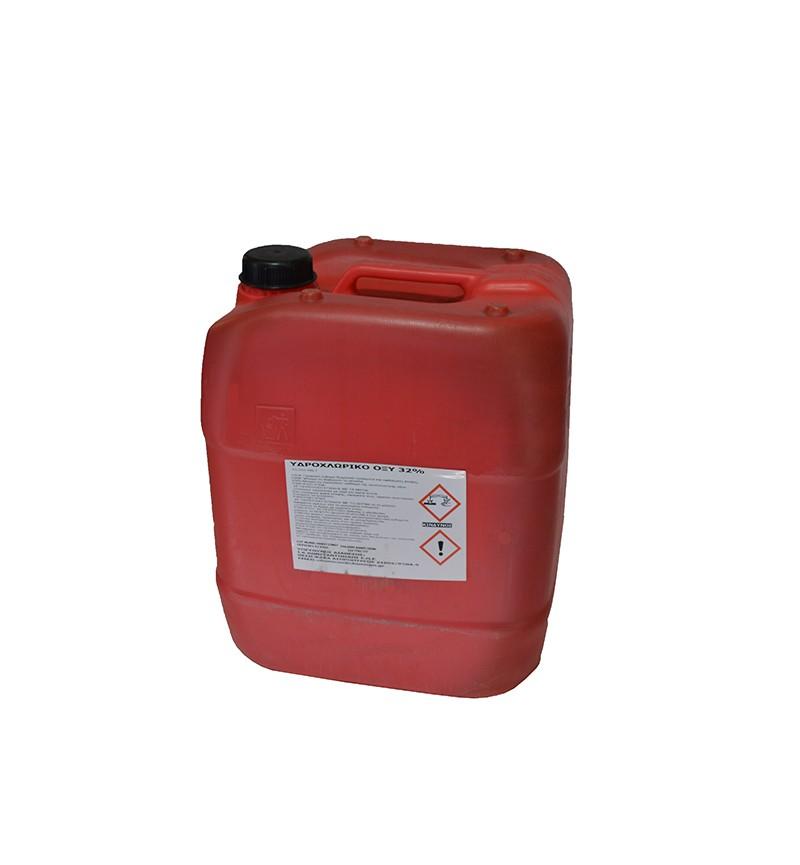 Υδροχλωρικό Οξύ 32kg